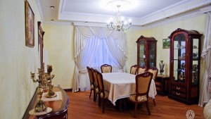 Moscow Residence dining interior