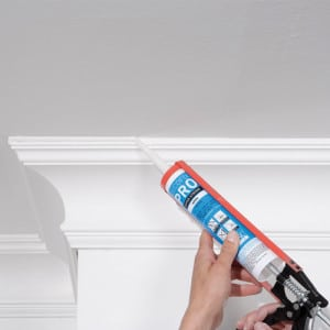Silicone for profiles, cornices and skirting boards