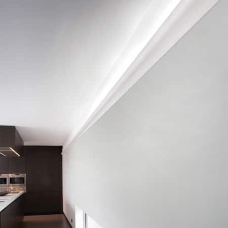 Корнизи за скрито осветление C364 интериор