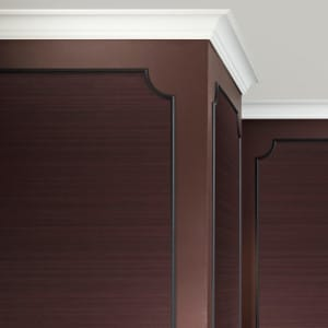 Decorative cornices CX106 and PX103 and PX103A interior