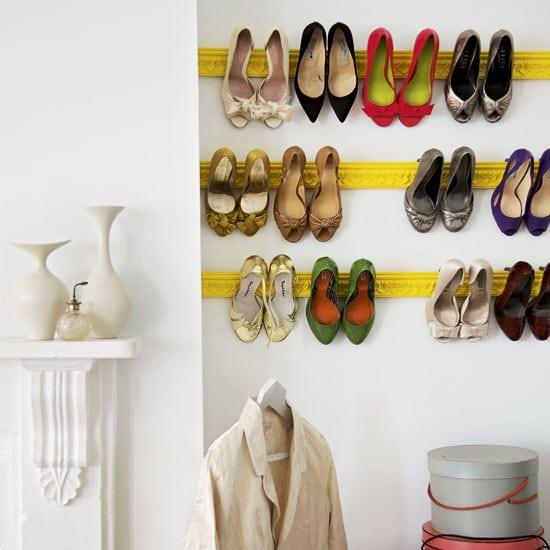 Корниз закачалка за обувки C214