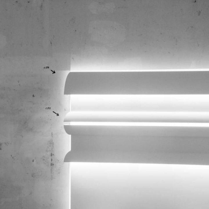 Корнизи за скрито осветление C374+C373 интериор
