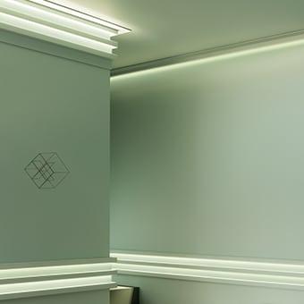 Корнизи за скрито осветление