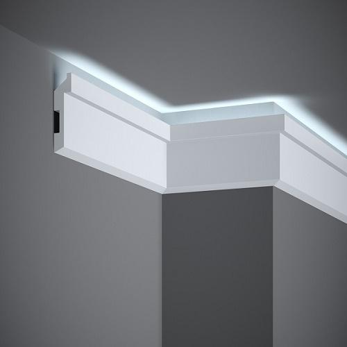Перваз и корниз за скрито осветление MD024