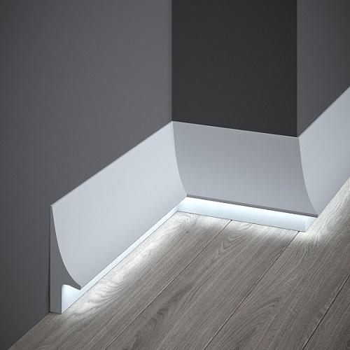 Подови первази за скрито осветление QL007