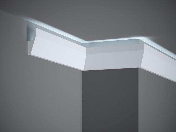 Корниз за скрито осветление MD118